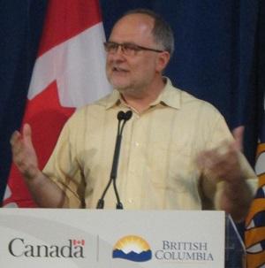 Pastor Tim Dickau.