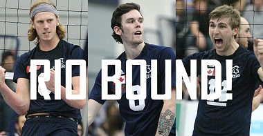 Three former members of the TWU Spartans volleyball team will be taking part in the Rio 2016 Olympic Games.