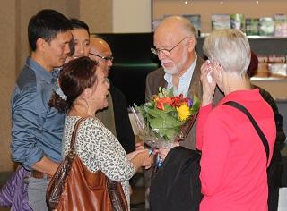 Kim Jocson feels very grateful to Reg and Donna Reimer.