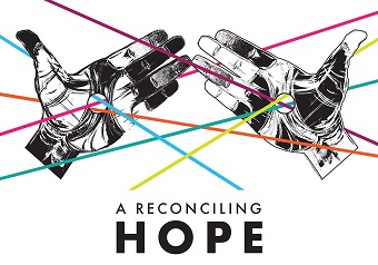 'A Reconciling Hope' will run from until February 16 at Lookout Gallery. Image credit: Brian Liu, Holds all things together.