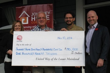 ourney Home Community's Refugee Claimant Sponsorship Program will consult with churches and other groups to sponsor refugee claimants (asylum seekers) - ie, those who do not have sponsors. They and Kinbrace are being funded by United Way
