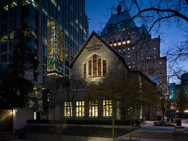Christ Church Cathedral is in the running for a Vancouver Peoples Choice Heritage Award.