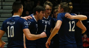 The Trinity Western University Spartans are U Sports national men's volleyball champions for the second year in a row.