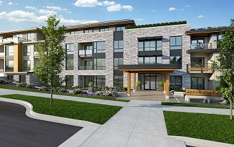 This is the way Aspen Green is expected to look when completed in November.