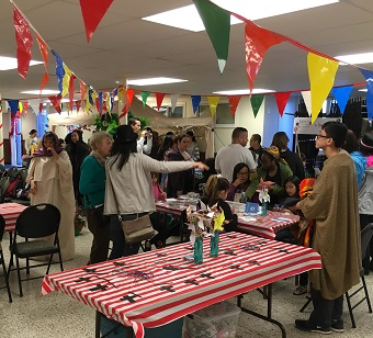 Vancouver Urban Ministries and 11 churches sponsored an Easter Carnival at Strathcona Church.