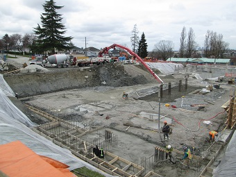 The site of the future K-12 Vancouver Christian School
